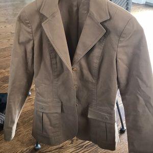 Jackets & Blazers - Theory tan jacket/blazer